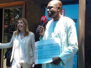 Premier lauréat du prix RFI Challenge App Afrique: Le RAFT-UNFM via Bogou
