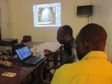 Télé échographie au Centre de Santé de Boula: un espoir pour la population locale